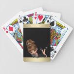 Princesa adorable de la diva barajas de cartas