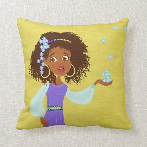 Princesa africana MoJo Pillows Almohadas