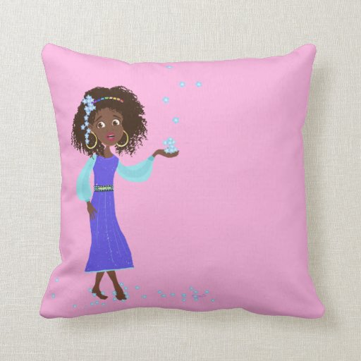 Princesa africana Pillows Almohada