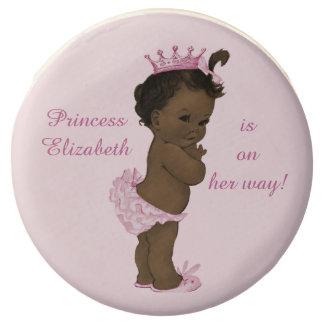 Princesa afroamericana personalizada fiesta de