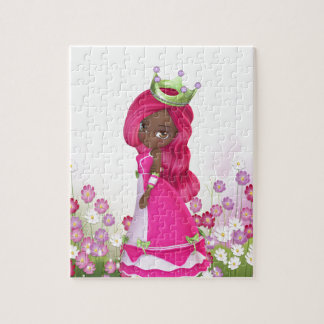Princesa afroamericana puzzles
