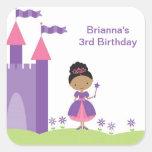 Princesa afroamericana Stickers