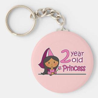 Princesa Age 2 Llavero Redondo Tipo Pin