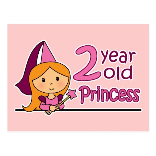 Princesa Age 2 Postales