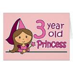Princesa Age 3 Felicitacion