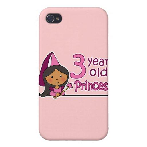 Princesa Age 3 iPhone 4 Cárcasa
