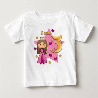 Princesa Age 3 T Shirt
