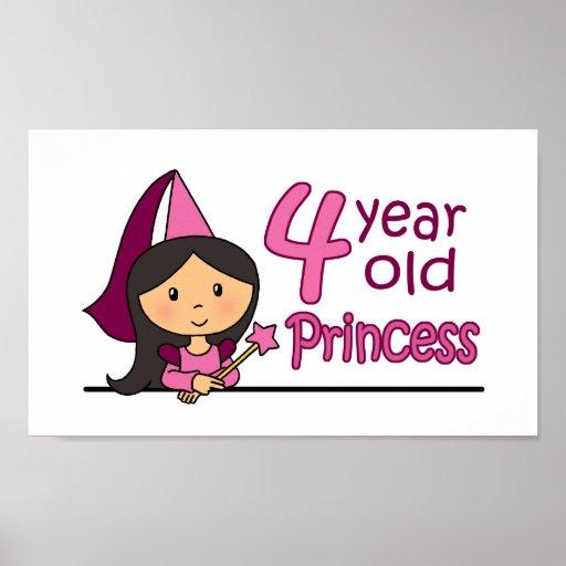 Princesa Age 4 Impresiones