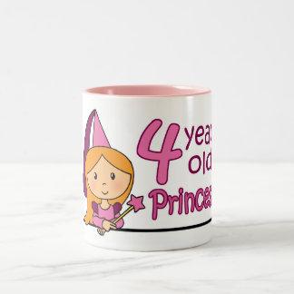Princesa Age 4 Taza De Café