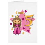 Princesa Age 5 Felicitaciones