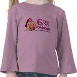 Princesa Age 6 Camisetas