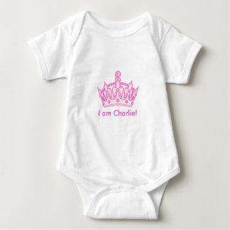 ¡Princesa agradable Charlie! Body Para Bebé
