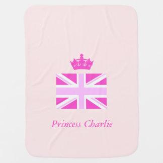 ¡Princesa agradable Charlie! Manta De Bebé