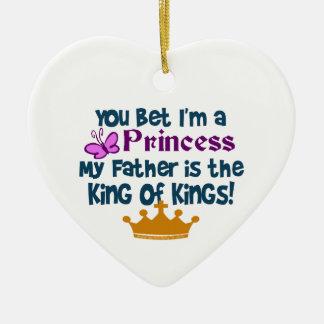¡Princesa al rey de reyes Ornato