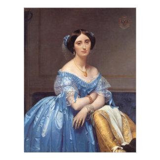 """Princesa Albert de Broglie' Tarjetas Publicitarias"