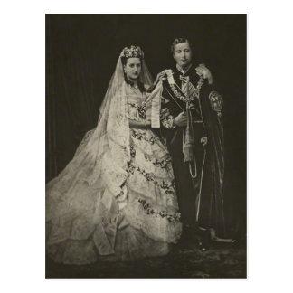 PRINCESA ALEXANDRA del boda de Dinamarca #006UK Tarjetas Postales