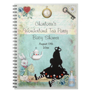 Princesa Alicia en Guestbook de la fiesta de Cuaderno