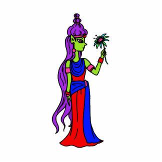 Princesa Alien Esculturas Fotográficas