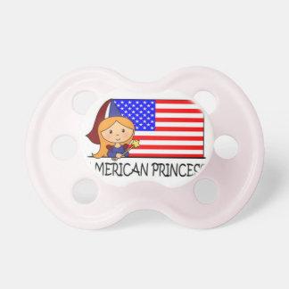 princesa americana chupetes
