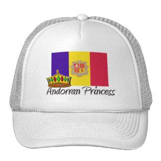 Princesa andorrana gorra