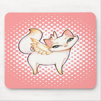 Princesa Angel Fairy Cat, arte felino de Hime Kawa Tapetes De Ratones