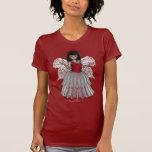 Princesa Angel Shirt del cordón de las mejillas de Camisetas
