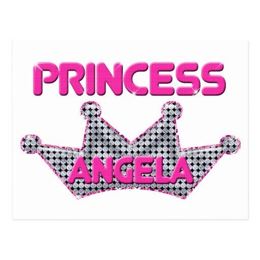 Princesa Angela Tarjeta Postal