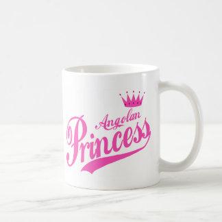 Princesa angolana taza clásica