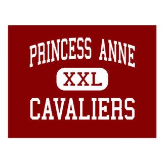 Princesa Anne - Cavaliers - alta - Virginia Beach Tarjeta Postal