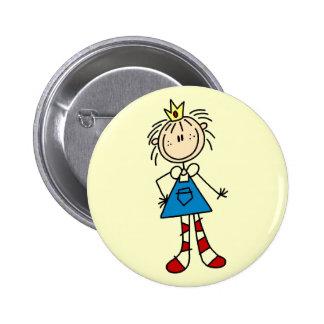 Princesa Annie Ragdoll Tshirts y regalos Pin Redondo De 2 Pulgadas