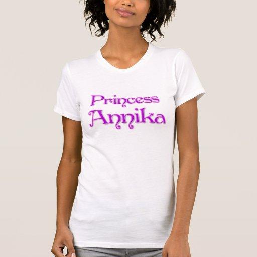 Princesa Annika Camisetas