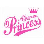 Princesa argelina postal