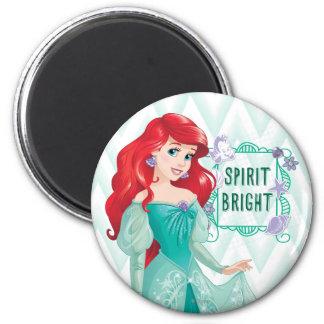 Princesa Ariel Imán Redondo 5 Cm