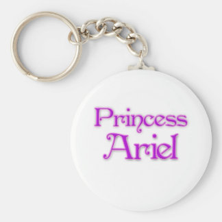 Princesa Ariel Llavero Redondo Tipo Pin