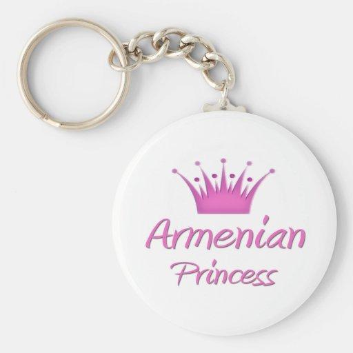Princesa armenia llavero redondo tipo pin