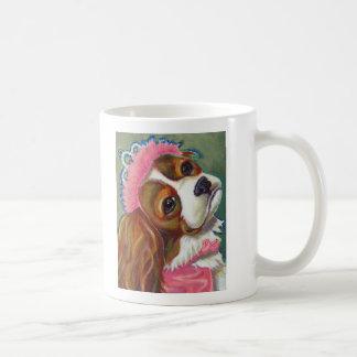Princesa arrogante ART del perro del perro de agua Taza De Café