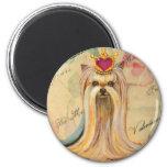 Princesa Art Gifts de la tarjeta del día de San Va Imán De Frigorífico