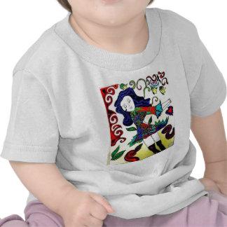 Princesa Arte-Daisey Van Diesel Camisetas