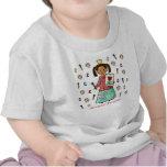 Princesa artística camisetas