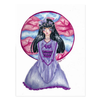 Princesa asiática Postcard Postales