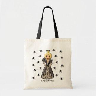 Princesa asustadiza bolsa de mano