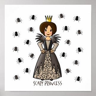 Princesa asustadiza impresiones