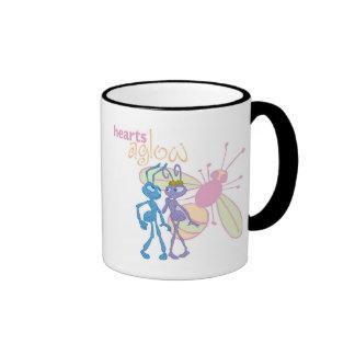 Princesa Atta de la vida de un insecto y corazones Taza De Café