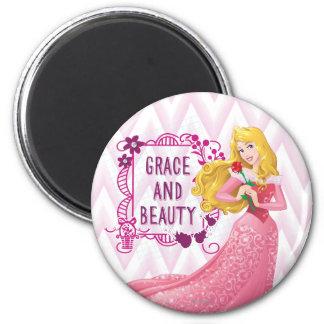 Princesa Aurora Imán Redondo 5 Cm