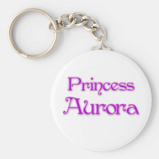 Princesa Aurora Llavero Personalizado