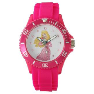 Princesa Aurora Relojes De Pulsera