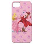 Princesa Aurora y animales del bosque iPhone 5 Fundas