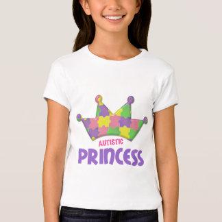 Princesa autística 1 AUTISMO Playera
