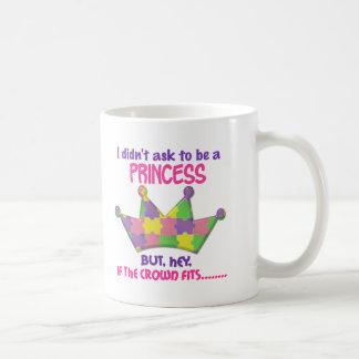 Princesa autística 2 AUTISMO Taza De Café