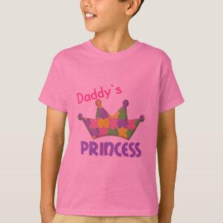 Princesa autística 3 AUTISMO Playera